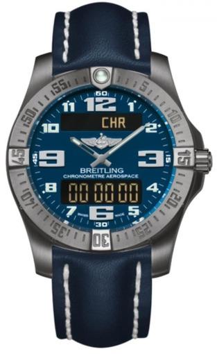 Фото швейцарских часов Мужские швейцарские наручные часы Breitling Aerospace E7936310/C869/152E