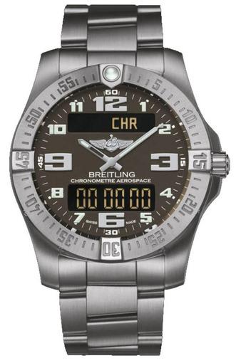 Фото швейцарских часов Мужские швейцарские наручные часы Breitling Aerospace E7936310/F562/152E