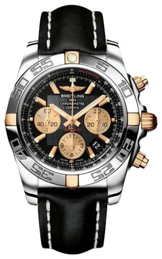 Фото швейцарских часов Мужские швейцарские наручные часы Breitling Chronomat 44  IB011012/B968/435X