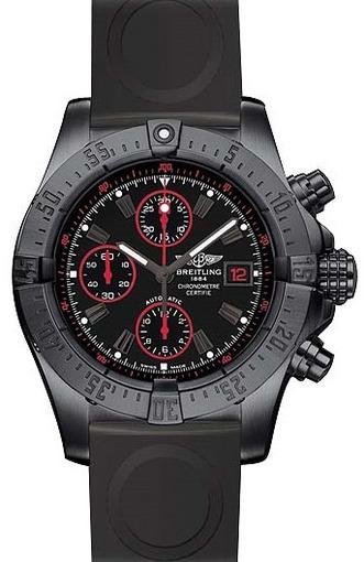 Фото швейцарских часов Мужские швейцарские наручные часы Breitling Avenger Blacksteel M133802C/BC73/221S