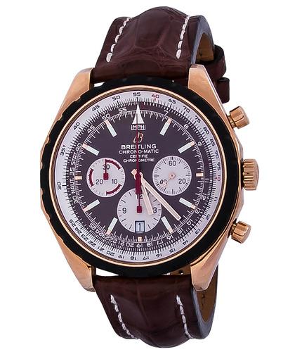 Фото швейцарских часов Мужские швейцарские наручные часы Breitling Navitimer Chrono-matic 49 R1436002/Q557/756P