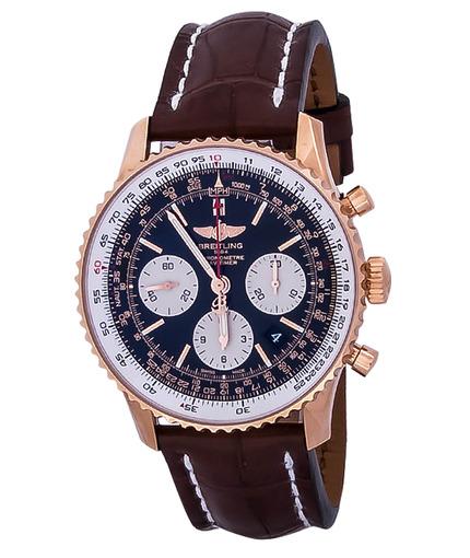 Фото швейцарских часов Мужские швейцарские наручные часы Breitling Navitimer RB012012/BA49/739P