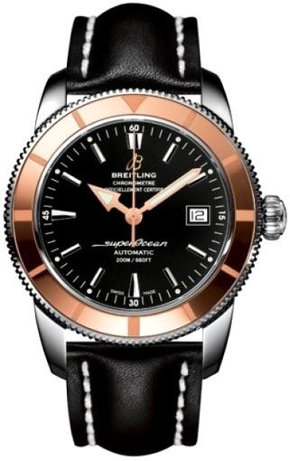Фото швейцарских часов Мужские швейцарские наручные часы Breitling Superocean 44 U1732112/BA61/435X