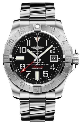 Фото швейцарских часов Мужские швейцарские наручные часы Breitling Avenger A3239011/BC34/170A