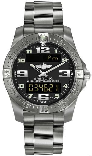 Фото швейцарских часов Мужские швейцарские наручные часы Breitling Aerospace EVO E7936310/BC27/152E