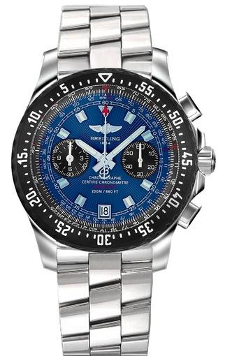 Фото швейцарских часов Мужские швейцарские наручные часы Breitling Skyracer A2736423/C804/140A