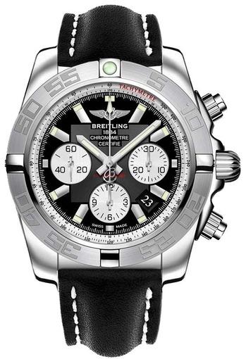 Фото швейцарских часов Мужские швейцарские наручные часы Breitling Chronomat 44  AB011011/B967/435X