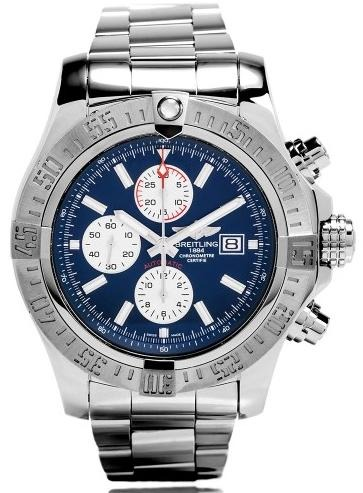 Фото швейцарских часов Мужские швейцарские наручные часы Breitling Avenger A1337111/C871/168A