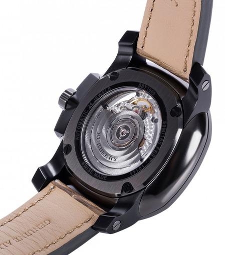 Фото швейцарских часов Мужские швейцарские наручные часы Burberry BRITAIN Classic BBY1000