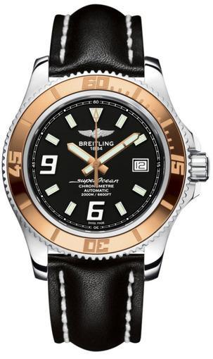 Фото швейцарских часов Мужские швейцарские наручные часы Breitling Superocean 44 C1739112/BA77/435X