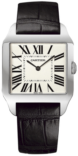 Фото швейцарских часов Мужские швейцарские наручные часы Cartier Santos W2007051