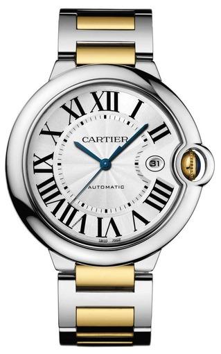 Фото швейцарских часов Мужские швейцарские наручные часы Cartier Ballon Bleu W69009Z3