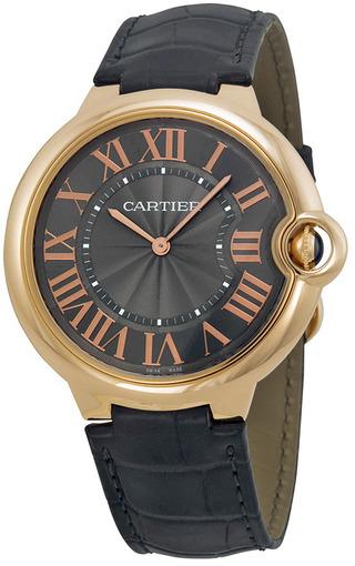 Мужские швейцарские наручные часы Cartier Ballon Bleu W6920089