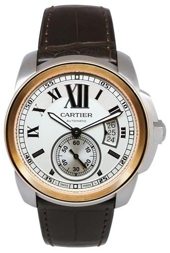 Фото швейцарских часов Мужские швейцарские наручные часы Cartier Calibre de Cartier W7100039