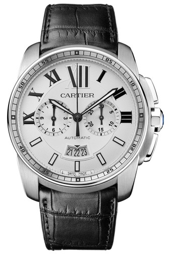 Фото швейцарских часов Мужские швейцарские наручные часы Cartier Calibre de Cartier W7100046