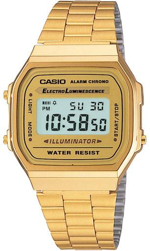 Фото японских часов Мужские японские наручные часы Casio Standard Digital A-168WG-9
