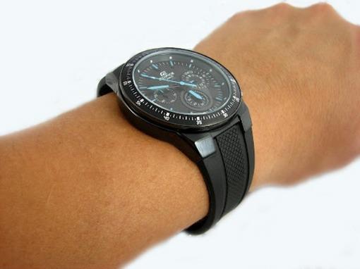 Фото японских часов Мужские японские наручные часы Casio  EF-552PB-1A2