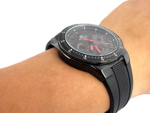 Фото японских часов Мужские японские наручные часы Casio  EF-552PB-1A4