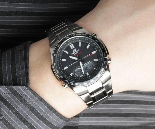 Фото японских часов Мужские японские наручные часы Casio Edifice  EFA-134SB-1A1