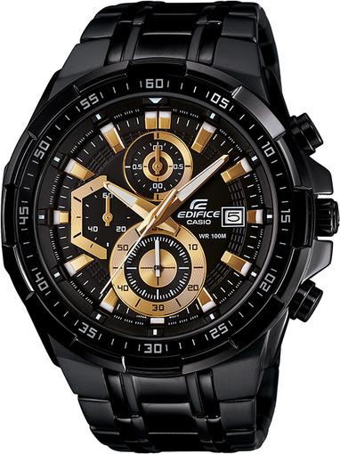 Фото японских часов Мужские японские наручные часы Casio Edifice  EFR-539BK-1A