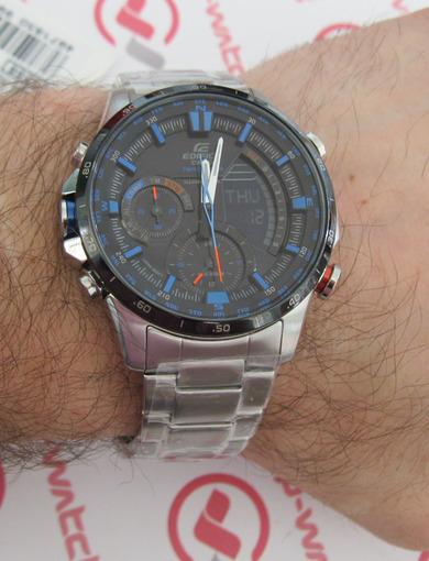 Фото японских часов Мужские японские наручные часы Casio Edifice  ERA-300DB-1A2