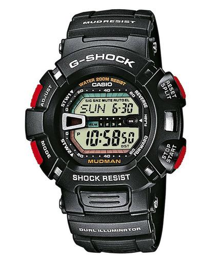 Фото японских часов Мужские японские наручные часы Casio G-shock  G-9000-1V