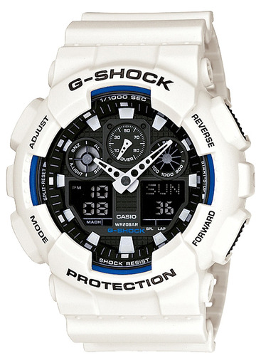 Фото японских часов Мужские японские наручные часы Casio G-shock  GA-100B-7A