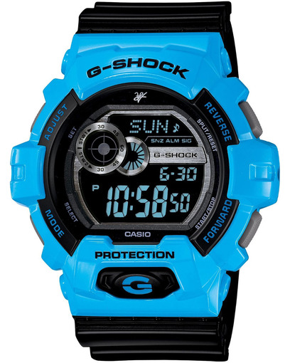Фото японских часов Мужские японские наручные часы Casio G-shock G-Lide GLS-8900LV-2E