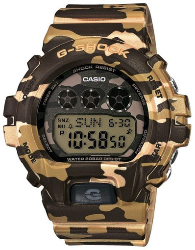 Фото японских часов Мужские японские наручные часы Casio G-shock S-series GMD-S6900CF-3E