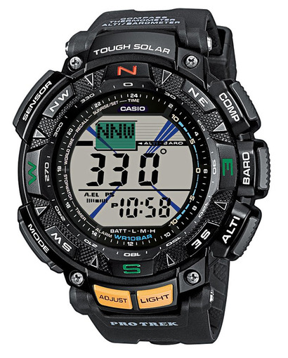 Фото японских часов Мужские японские наручные часы Casio Protrek  PRG-240-1E