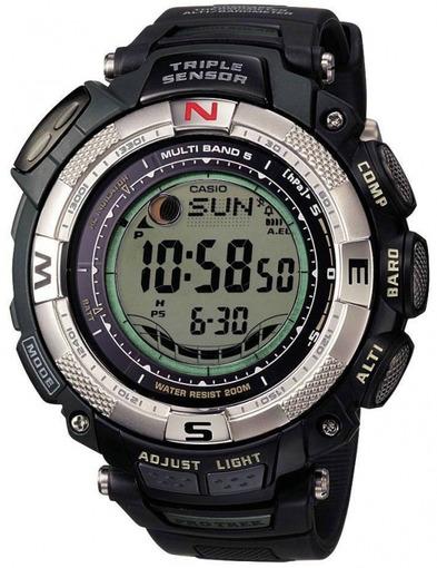 Фото японских часов Мужские японские наручные часы Casio Protrek Sport PRW-1500-1V