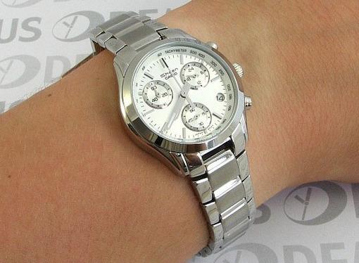 Фото японских часов Женские японские наручные часы Casio Sheen SHN-5000BP-7A