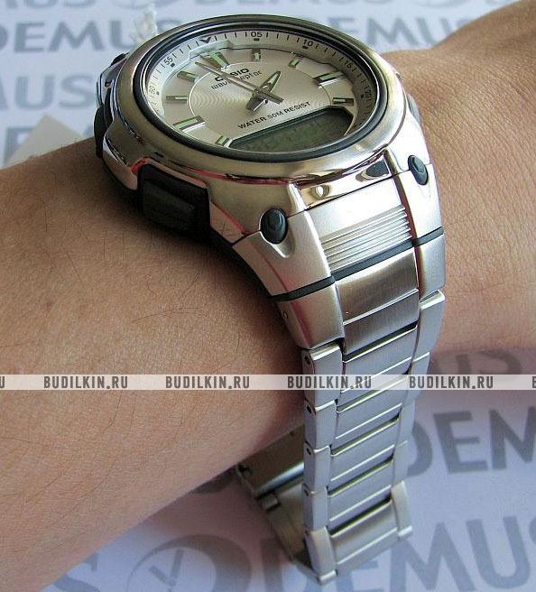 b7a00205e474 Casio Wave Ceptor WVA-109HDE-7A - купить часы по цене 7190 рублей ...