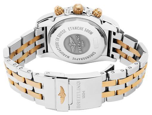Фото швейцарских часов Мужские швейцарские наручные часы Breitling Chronomat 41` CB014012/G713/378C