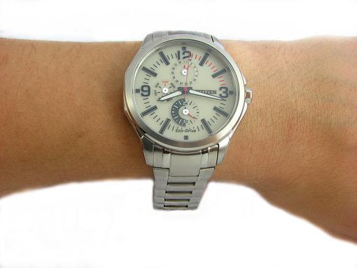 Фото японских часов Мужские японские наручные часы Citizen Eco-Drive AP4000-58W