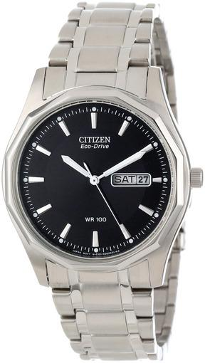Фото японских часов Мужские японские наручные часы Citizen Eco-Drive BM8430-59EE