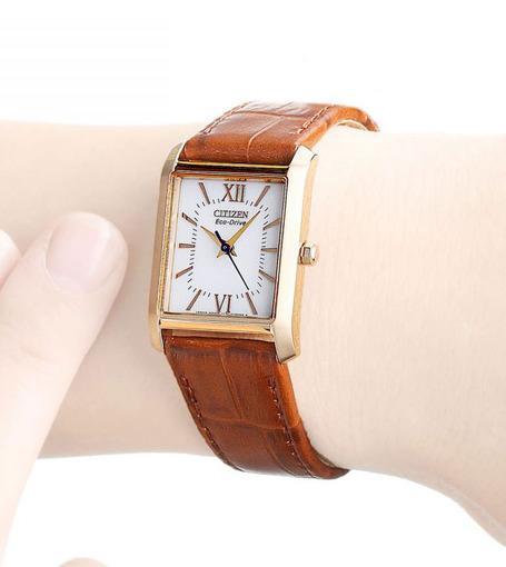 Фото японских часов Женские японские наручные часы Citizen Eco-Drive EP5918-06A