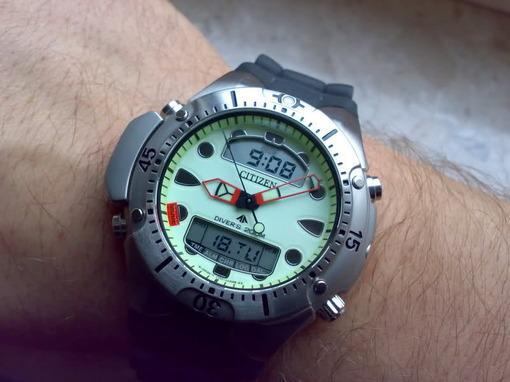Часы citizen chronograph a660
