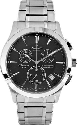 Фото швейцарских часов Мужские швейцарские наручные часы Atlantic Seahunter 71465.41.61