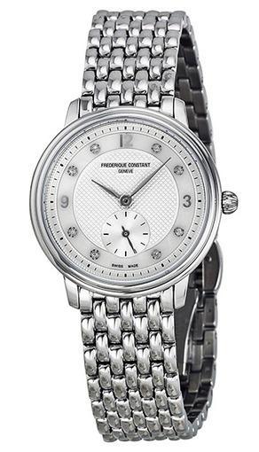 Фото швейцарских часов Женские швейцарские наручные часы Frederique Constant SLIM LINE FC-235MPWD1S6B