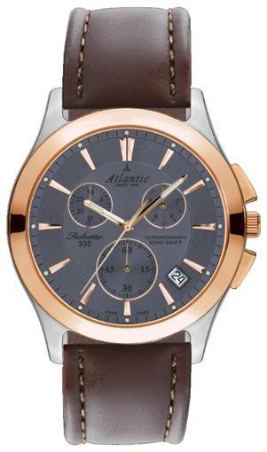 Фото швейцарских часов Мужские швейцарские наручные часы Atlantic Seahunter 71460.43.41R