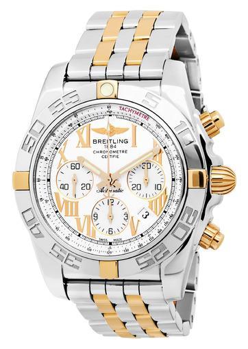 Фото швейцарских часов Мужские швейцарские наручные часы Breitling Chronomat 44  IB011012/G677/375C