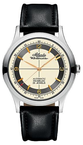 Фото швейцарских часов Мужские швейцарские наручные часы Atlantic Worldmaster 53753.41.95G
