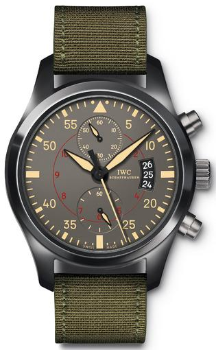 Фото швейцарских часов Мужские швейцарские наручные часы IWC Pilots IW388002