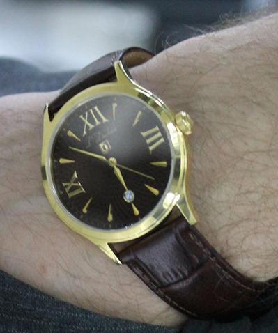 Фото швейцарских часов Мужские швейцарские наручные часы L'Duchen Philosophie D 131.22.18