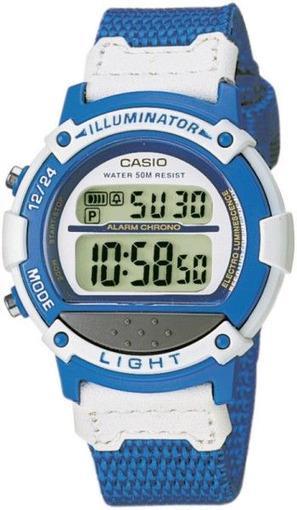 Фото японских часов Женские японские наручные часы Casio Illuminator LW-23HB-2A
