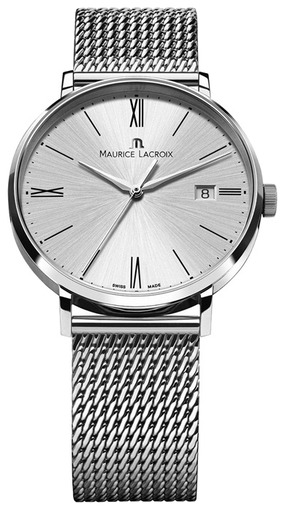 Фото швейцарских часов Мужские швейцарские наручные часы Maurice Lacroix Eliros EL1087-SS002-110