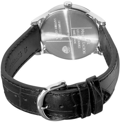 Мужские швейцарские наручные часы Maurice Lacroix Les Classiques LC1227-SS001-330