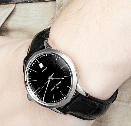 Фото швейцарских часов Мужские швейцарские наручные часы Maurice Lacroix Les Classiques LC1227-SS001-330