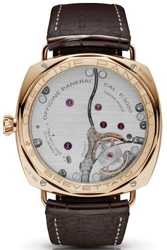 Фото швейцарских часов Мужские швейцарские наручные часы Panerai Radiomir 3 Days Ora Rosa PAM00379